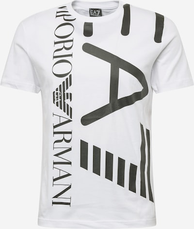 EA7 Emporio Armani Camiseta en negro / blanco, Vista del producto