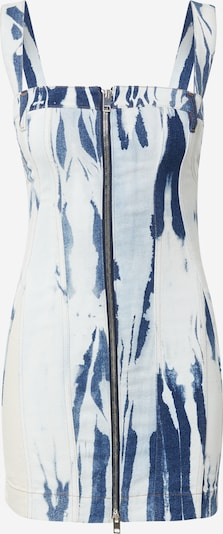 DIESEL Robe 'DE-VOLCANO' en bleu marine / bleu clair / blanc, Vue avec produit