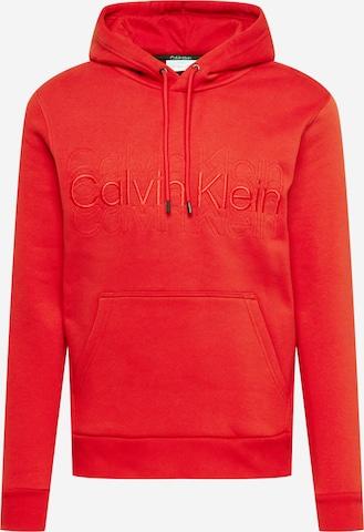 Calvin Klein Sweatshirt in Rot