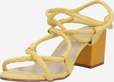 Sandalai iš GLAMOROUS , spalva - geltona, Prekių apžvalga