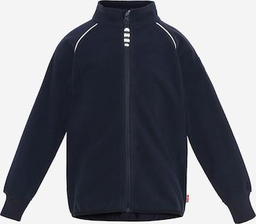 Racoon Outdoor Fleece Jacket in Blue