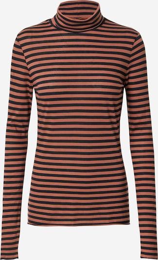 Tricou 'Malenaa' ARMEDANGELS pe maro ruginiu / negru, Vizualizare produs