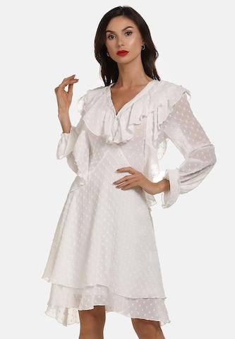 faina Cocktail Dress in White