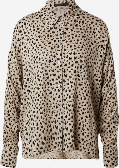 DRYKORN Bluse 'Cloelia' in beige / schwarz, Produktansicht