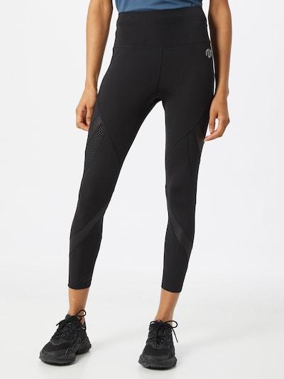 MOROTAI Leggings in schwarz / weiß: Frontalansicht