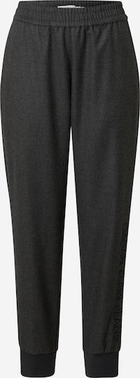Pantaloni Calvin Klein Jeans pe gri închis, Vizualizare produs
