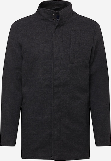BLEND Manteau mi-saison en gris / gris foncé, Vue avec produit