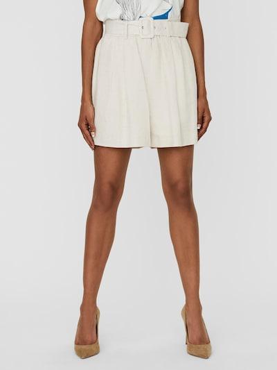 VERO MODA Plisované nohavice 'Amelia' - béžová, Model/-ka