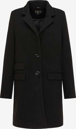faina Tussenmantel in de kleur Zwart, Productweergave