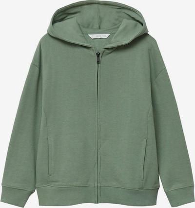 MANGO KIDS Sweatshirt in grasgrün, Produktansicht