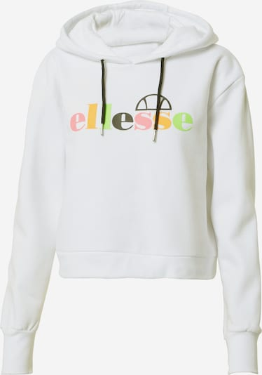 ELLESSE Mikina 'GAETANA' - khaki / světle zelená / oranžová / pink / bílá, Produkt