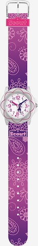SCOUT Uhr in Lila