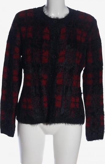 KRISS Cardigan in M in rot / schwarz, Produktansicht