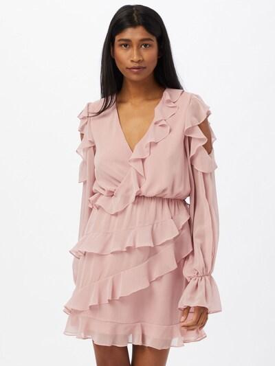 Missguided Kleid in rosa, Modelansicht