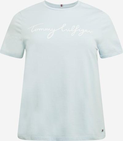 Tommy Hilfiger Curve T-Shirt in hellblau / weiß, Produktansicht