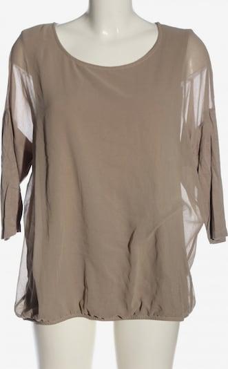 VIA MILANO Langarm-Bluse in XXL in braun, Produktansicht