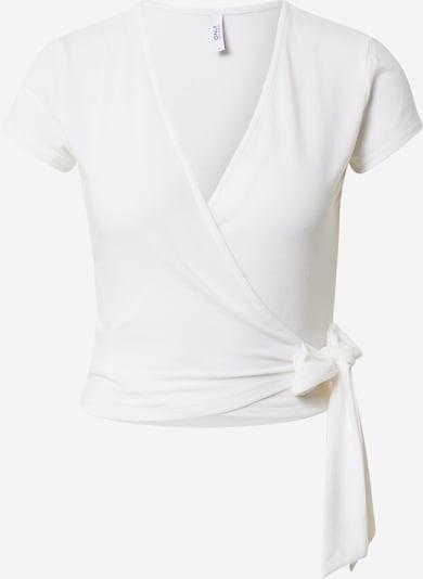 ONLY Shirt 'SAGA' in weiß, Produktansicht