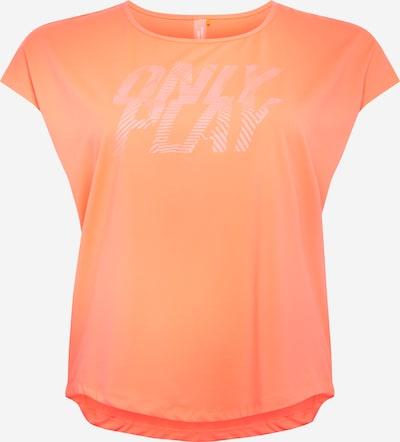 Only Play Curvy Sportshirt 'JUDIE' in koralle: Frontalansicht
