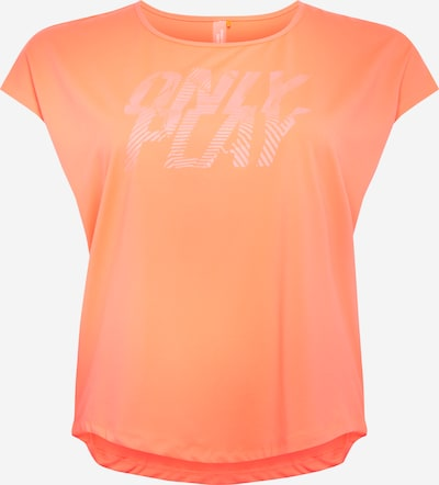Only Play Curvy Functioneel shirt 'JUDIE' in de kleur Koraal, Productweergave