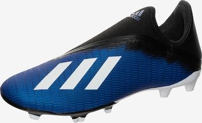 ADIDAS PERFORMANCE Fußballschuh 'X 19.3 FG' in blau / schwarz / weiß, Produktansicht