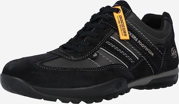 melns Dockers by Gerli Sporta apavi ar šņorēm