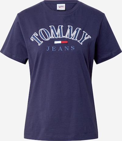 Tommy Jeans Shirt in de kleur Navy / Rood / Wit, Productweergave