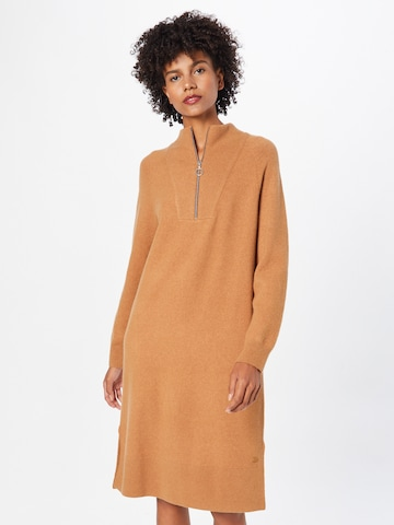 Marc O'Polo DENIM Knitted dress in Brown