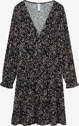 MANGO Kleid 'Moss' in creme / schwarz, Produktansicht
