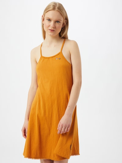 Ragwear Kleid 'SERAFINA' in safran, Modelansicht
