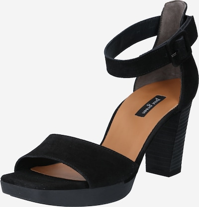 Paul Green Strap sandal in Black, Item view