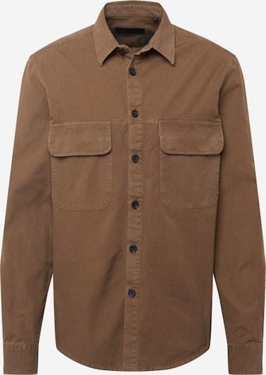 DRYKORN Hemd 'SELED' in braun, Produktansicht