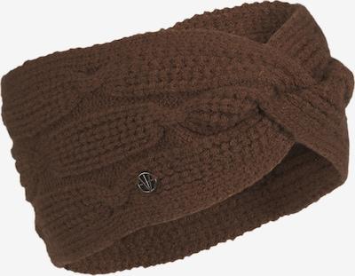 LOEVENICH Cache-oreilles ' Cozy Winter ' en marron, Vue avec produit