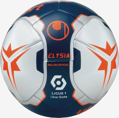 UHLSPORT Ball in dunkelblau / dunkelorange / silber, Produktansicht