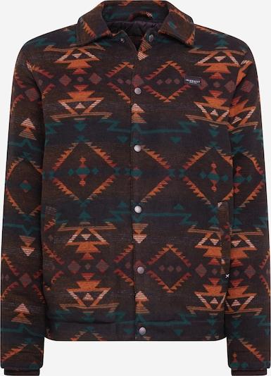 Iriedaily Jacke 'Santania' in petrol / orange / burgunder / pastellrot / weiß, Produktansicht