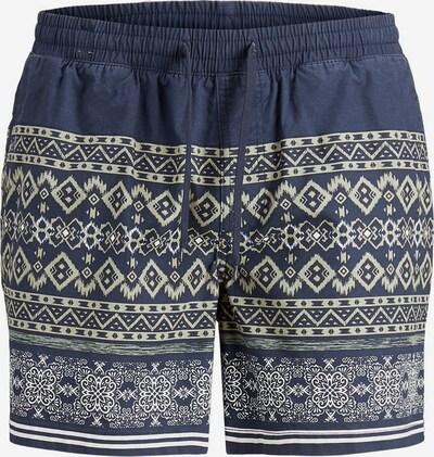 JACK & JONES Pantalon en beige / bleu, Vue avec produit