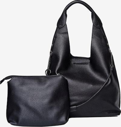 HARPA Schultertasche plus Kosmetiktasche in schwarz, Produktansicht