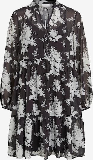 VILA Blusenkleid in schwarz / weiß, Produktansicht