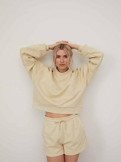 LeGer by Lena Gercke Pantalon 'Eliane' en crème, Vue avec modèle