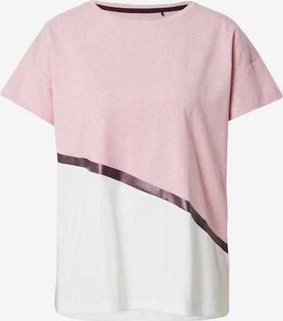 Sportiniai marškinėliai iš ESPRIT SPORT , spalva - purpurinė / šviesiai rožinė / balta: Vaizdas iš priekio