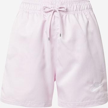 Pantalon Nike Sportswear en rose