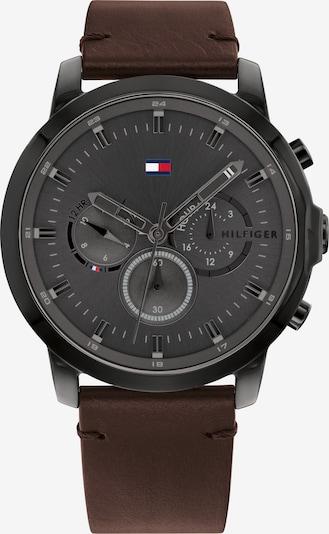 TOMMY HILFIGER Uhr in braun / schwarz, Produktansicht
