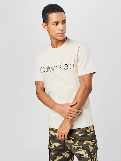 Calvin Klein Majica u nude / crna, Prikaz modela