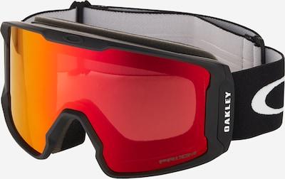 OAKLEY Sportske naočale 'Line Miner' u narančasta / crvena melange / crna, Pregled proizvoda