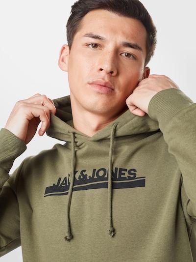 JACK & JONES Sweatshirt 'HARRY' i navy / oliven / hvid, Produktvisning