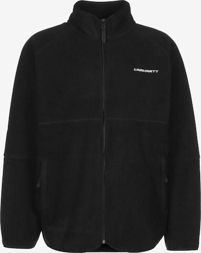 Carhartt WIP Veste en polaire en noir, Vue avec produit