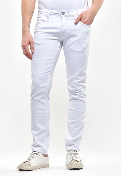 Le Temps Des Cerises Jeans im Destroyed-Look in weiß, Modelansicht