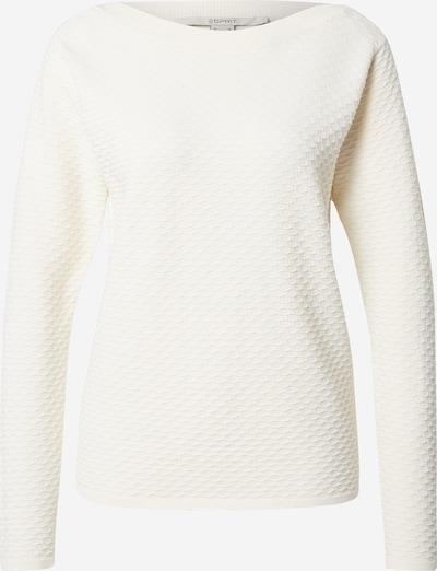 ESPRIT Jersey en blanco natural, Vista del producto