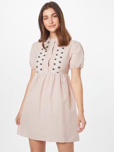 Rochie tip bluză Trendyol pe mai multe culori / roz, Vizualizare model