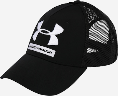 UNDER ARMOUR Sportpet 'Training Trucker' in de kleur Zwart / Wit, Productweergave