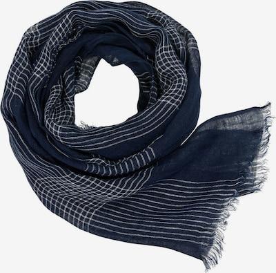 ESPRIT Sjaal in de kleur Donkerblauw / Wit, Productweergave